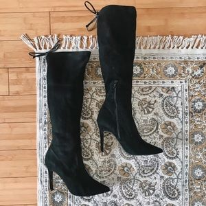 Wild Diva over-the-knee boots
